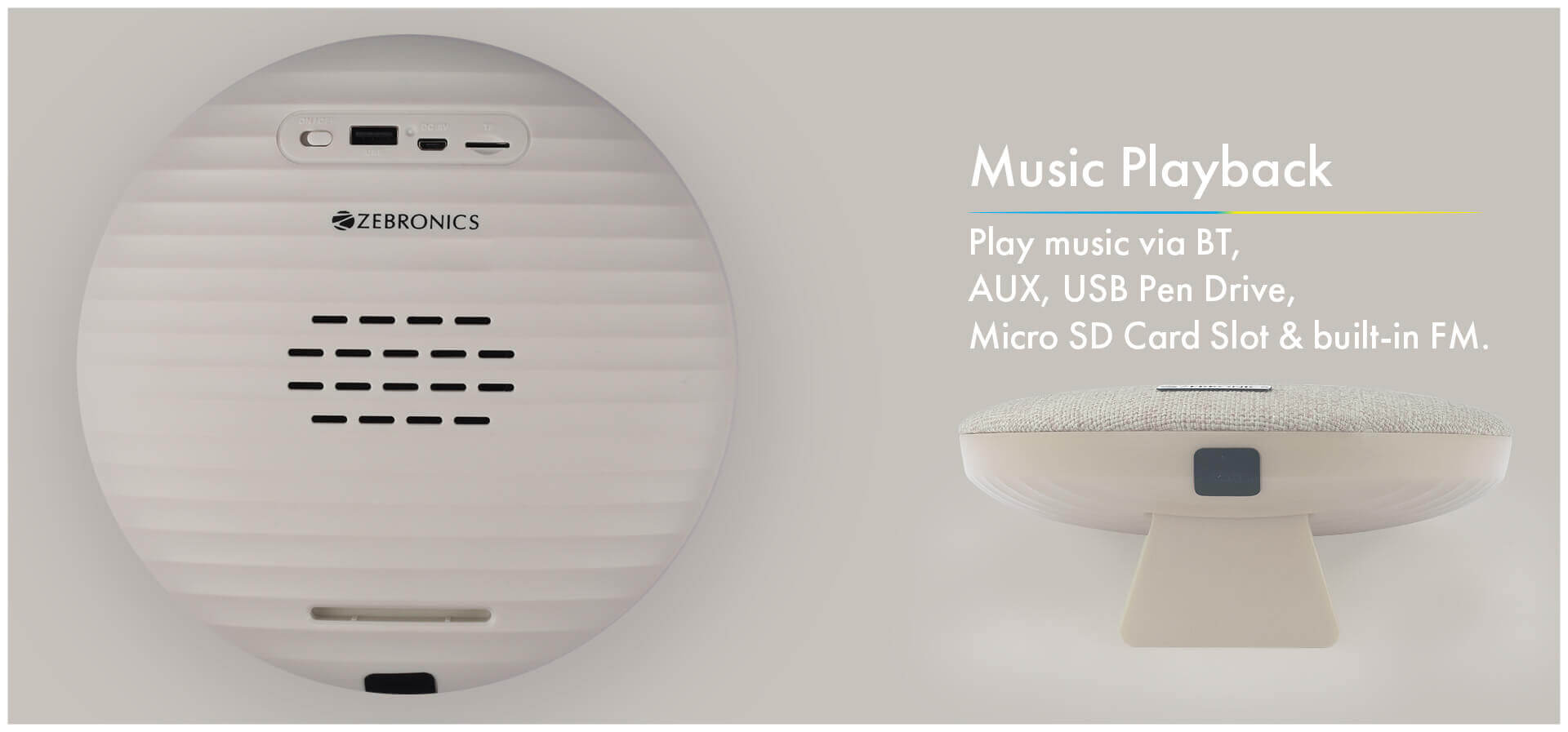 Zebronics Zeb-Maestro Portable Bluetooth Speaker